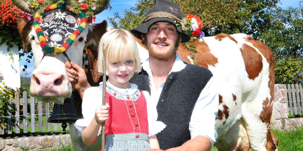 Reither Almabtrieb mit Bauernmarkt und Kirchtagsfest