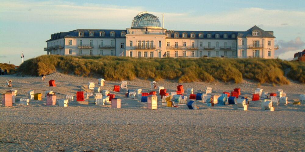 Strandhotel Kurhaus Juist lockt mit Thalasso-Woche