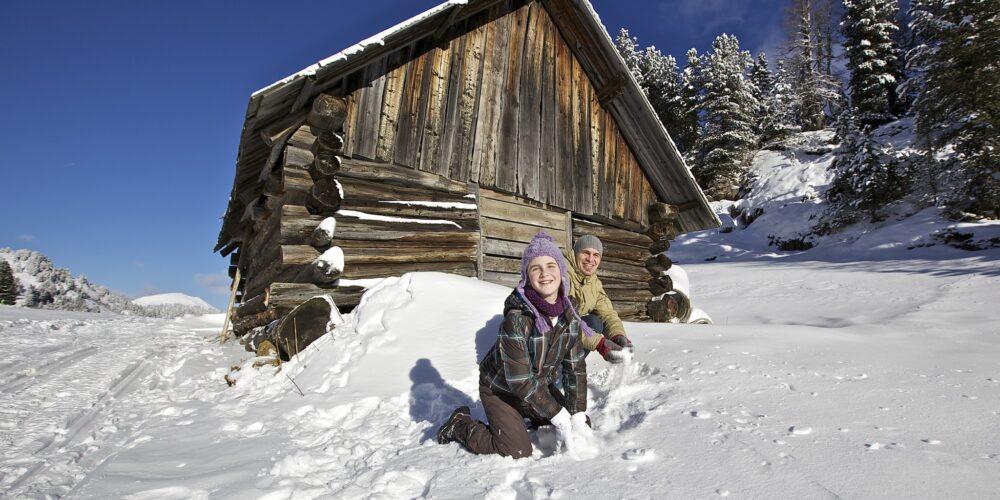 Unterwegs im Skigebiet Turracher Höhe