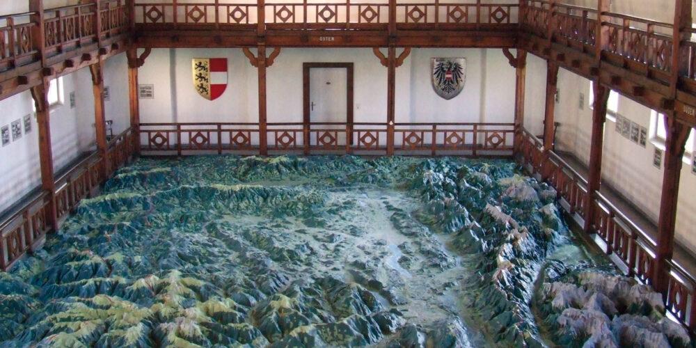 Relief von Kärnten am Wörthersee