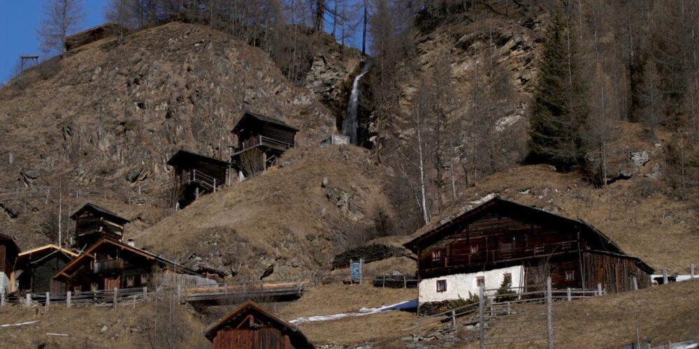 Stockmühlen- Freilichtmuseum Apriach bei Heiligenblut