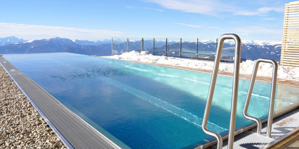 Exklusive Pool-Position auf der Kärntner Gerlitzen