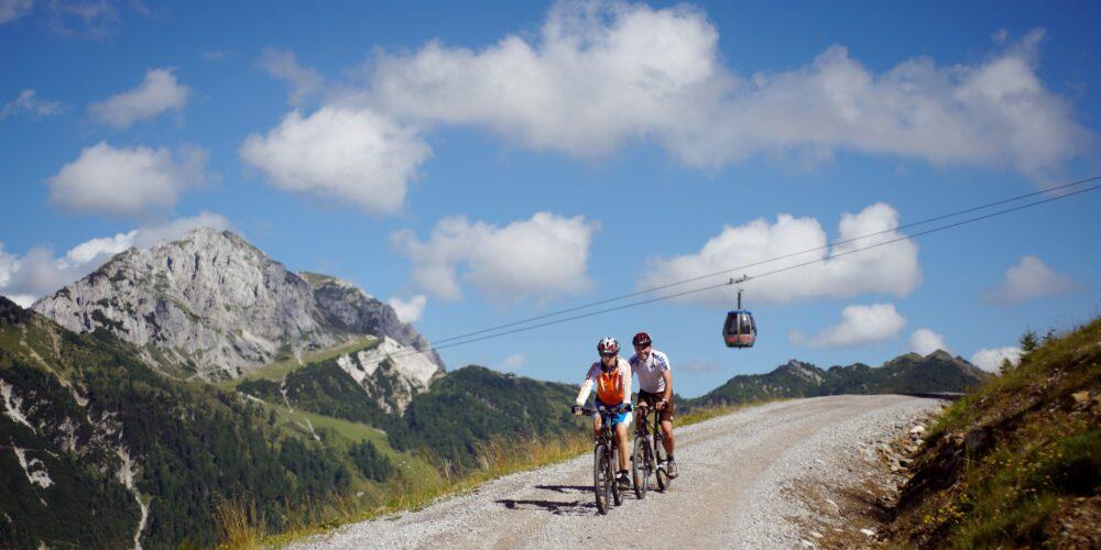Mountainbike-Abenteuer: Erlebnis Nassfeld-Pressegger See
