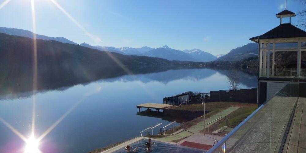 Wintererlebnis im Badehaus am Millstätter See