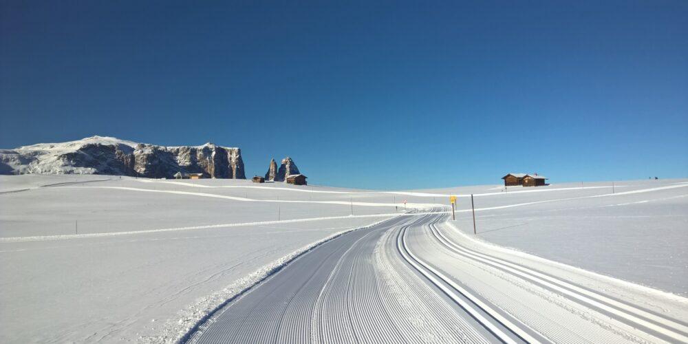 Auf den Spuren der größten Langlaufveranstaltungen in den Dolomiten