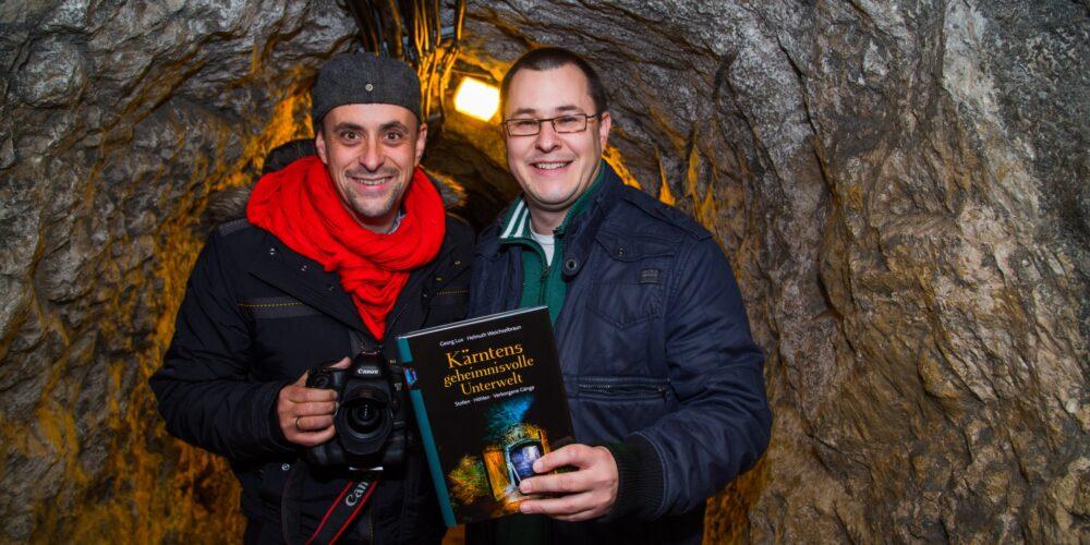 Höhlenbier im Bergwerk