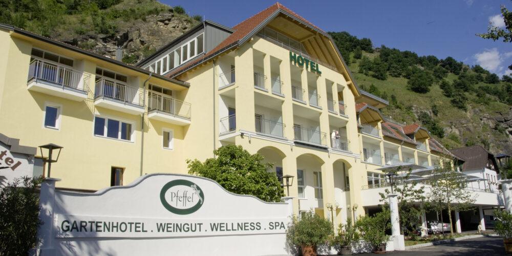 Gartenhotel Pfeffel: Himmelsstiege ins Weltkulturerbe Wachau