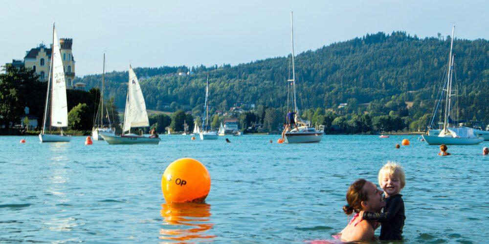 Kärntner Seen: Hervorragende Wasserqualität