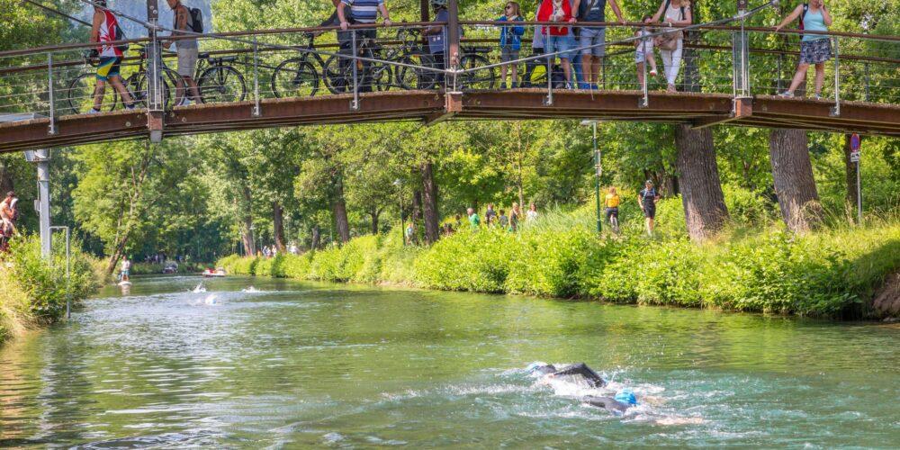 Schwimmerlebnis Lendkanal Crossing