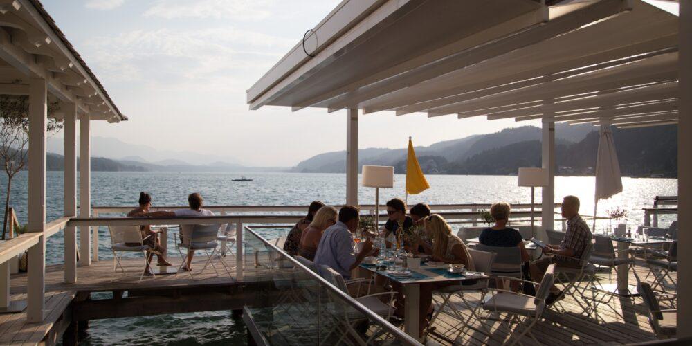 Tapas und leichte Küche in Werzer's Beach Club Restaurant