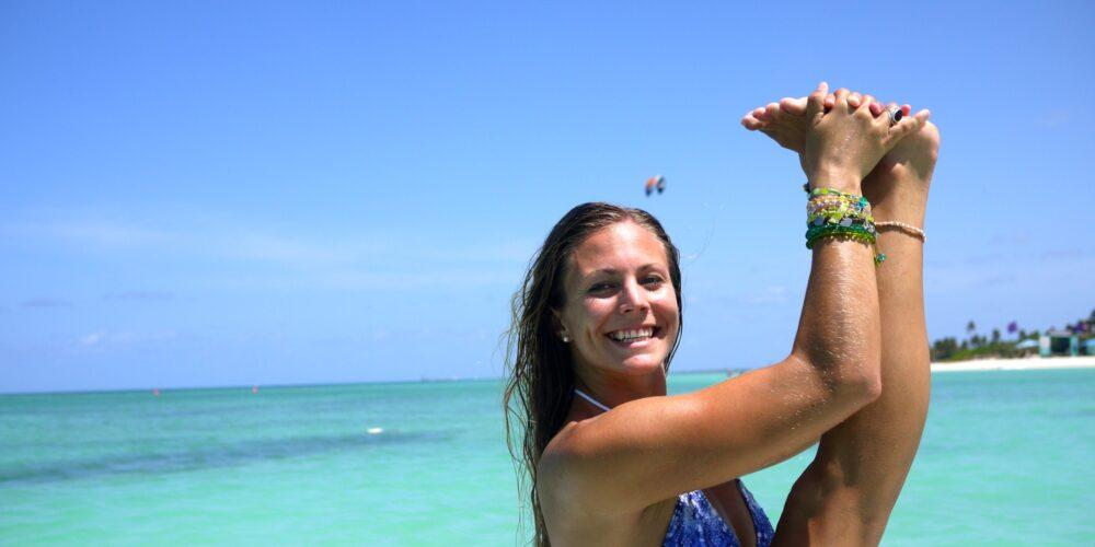 SUP-Yoga. Trendsporterlebnis auf Aruba