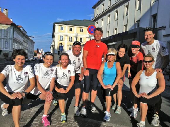 Zum Mitlaufen sind alle und jeder herzlich eingeladen: Einsteiger genauso wie erfahrene Läufer - Mädls wie Jungs!