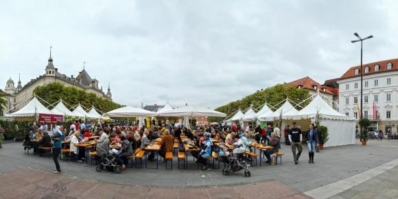 Bio-Fest 2012 in der Lindwurmstadt.
