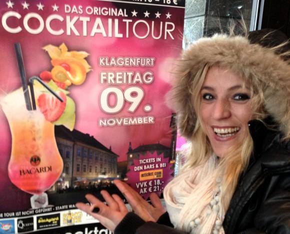 Freut sich auf die COCKTAILTOUR 2012: Loretto Chefin Sonja Krebs. Kombitickets gibt es im Lokal oder auch online.