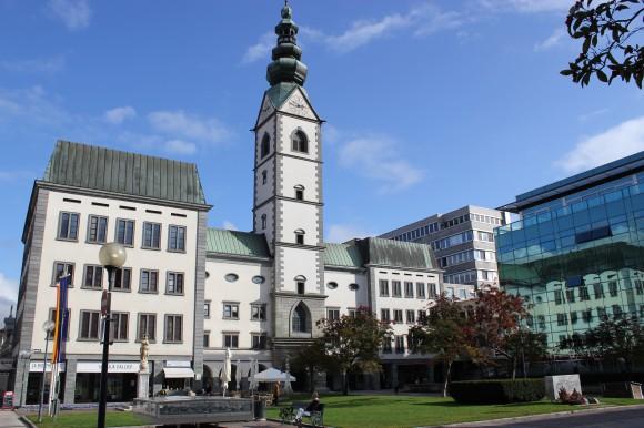 Treffpunkt für das Martinsfest ist die Domkirche von Klagenfurt.