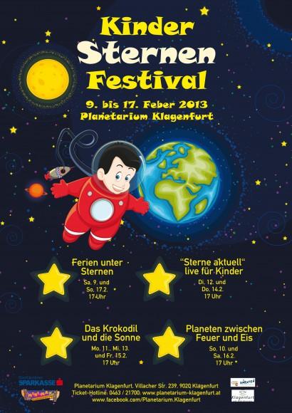 """Alle Kinder, die während des """"KinderSternenFestivals"""" das Planetarium besuchen, sind eingeladen, an einem Malwettbewerb teilzunehmen!"""