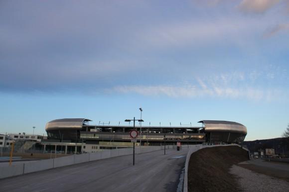 Hier wird trainiert: Wörtherseestadion Klagenfurt. Foto: pixelpoint