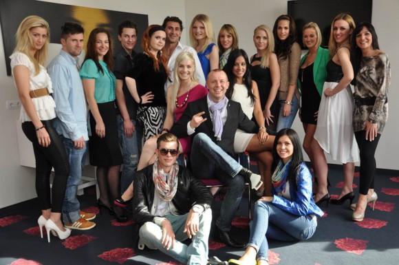 Die Models in der engeren Auswahl. Wer gewinnt das Casting?