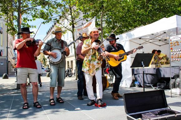 Country- und Westernmusik beim Lindwurm