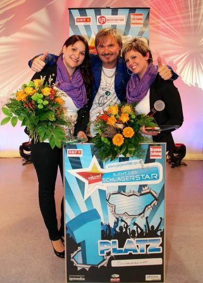 Die glücklichen Siegerinnen!