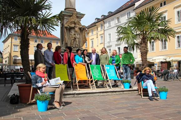 Die beliebte Aktion findet heuer bereits zum vierten Mal in Kooperation mit Kulturraum Klagenfurt, Interessensgemeinschaft Fußgängerzone, Musil Museum und ORF Kärnten statt.