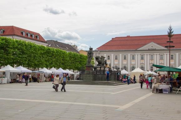 Der Kunsthandwerkmarkt 2013 in Klagenfurt.