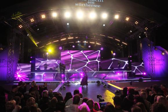 """Die """"Starnacht am Wörthersee"""" live um 21.00 Uhr in ORF 2"""