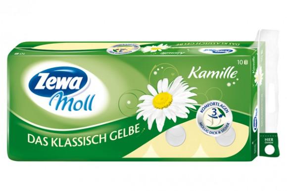 Zewa Moll. Das Klassisch Gelbe Kamille.