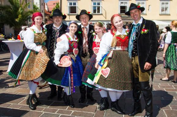 Villacher Kirchtag zu Gast in Klagenfurt.