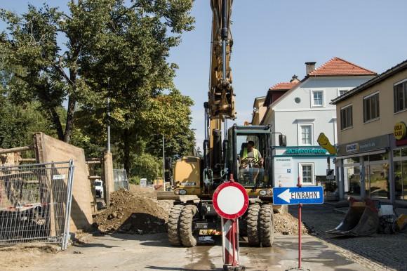 Die ansässigen Betriebe und die Stadt Klagenfurt freuen sich auf die Fertigstellung der Glanbrücke und der St. Veiter Straße.