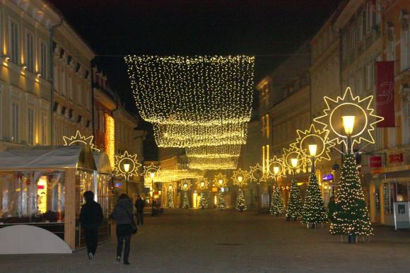 Vorweihnachtliches Klagenfurt ... Foto: pixel.at
