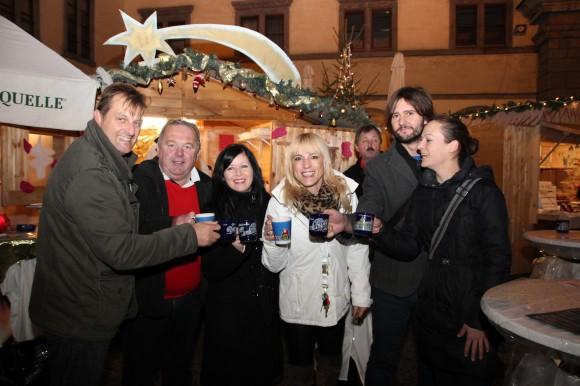 Mit der Eröffnung des Christkindlmarktes, wird am Domplatz auch die Punschsaison eingeläutet.