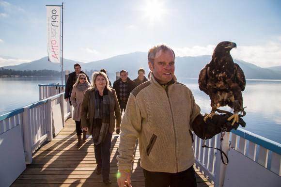 Treten geschlossen auf: Kärntens Top 10 Ausflugsziele.