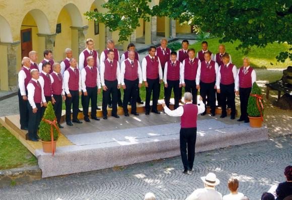 Der Carinthia-Chor Millstatt zählt bereits seit vielen Jahren zu den österreichischen Spitzenchören.