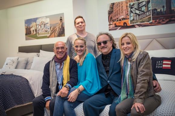 Florian Pontasch-Mueller, Otto Retzer, Eva-Maria Kryza, Lisa Schönhofer, Herwig Rüdisser; Foto: kk/tinefoto