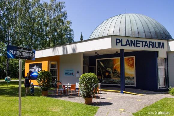 Wiedereröffnet: Das Planetarium in Klagenfurt am Wörthersee.