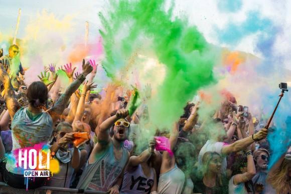 Foto: HOLI Festival der Farben