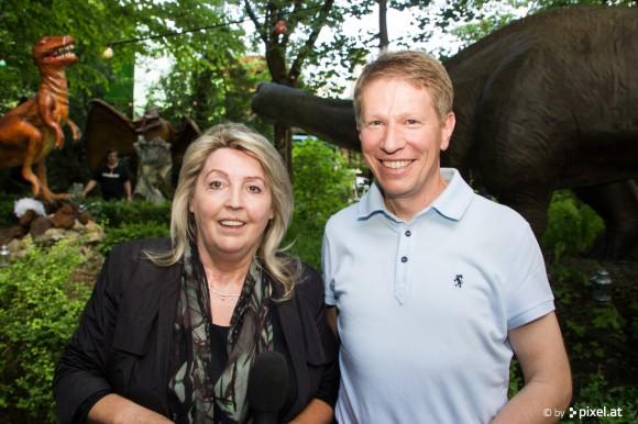 Auch Klagenfurts Tourismus Stadtrat Herbert Taschek war bei der Eröffnung zu Gast.