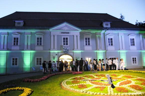 Das Stadthaus beherbergt den Kultur Sommer Klagenfurt.