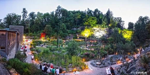 Der Botanische Garten am Kreuzbergl. Foto: pixelpoint