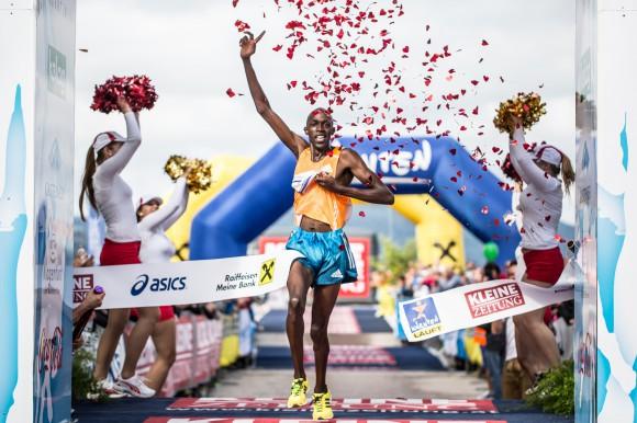 Kärnten Läuft Sieger beim Halbmarathon.