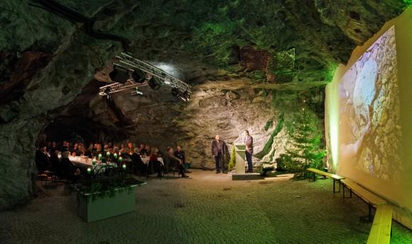 Barbarafeier im Bergbaumuseum. Foto: pixel.at