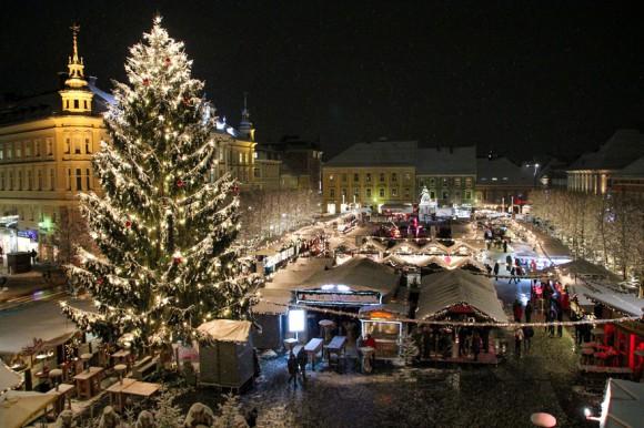 Der Christkindlmarkt in Klagenfurt. Foto: pixelpoint
