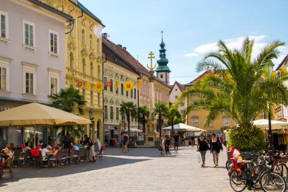 Im Schnitt bleibt der typische Nächtigungstourist zwei Tage in Klagenfurt. Foto: pixelpoint