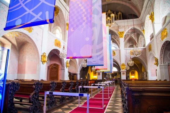 Kunstinstallation in der Domkirche. Foto: pixelpoint