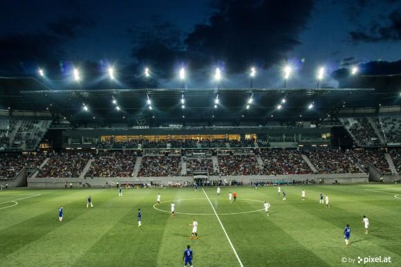 Das Klagenfurter Wörthersee Stadion. Foto: pixelpoint