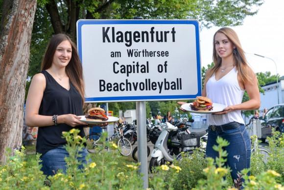 So schmeckt Beachvolleyball in Klagenfurt am Wörthersee. Foto: Nicolas Zangerle