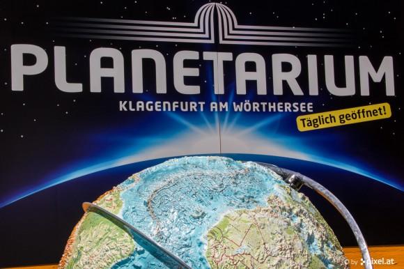 Das Planetarium in Klagenfurt.