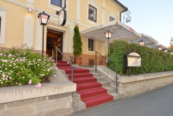 Das Gasthaus zum weißen Roß am St. Veiter Ring 19 in Klagenfurt am Wörthersee. Foto: Nicolas Zangerle