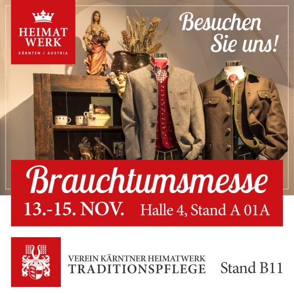 Kärntner Heimatwerk auf der Brauchtumsmesse in Klagenfurt.